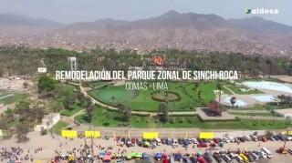 Registro de Ejecución de Obra / Parque Sinchi Roca