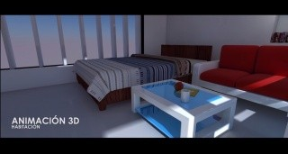 ANIMACIÓN 3D - HABITACIÓN